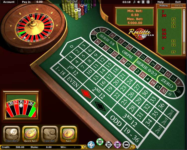 Free roulette 342028